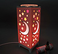 2016 New Starry Sky Rose Induction Aromatherapy Lamp LED Night Light for Kids Room Home Decoration