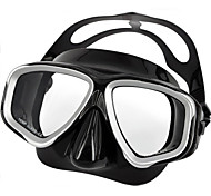 PVC Material Diving Mask for Diving/Swimming Black