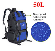 50L Large Capacity Backpack  Waterproof Lovers Double-shoulder Knapsack Camping/Hiking/Climbing Travelling Sports Bag
