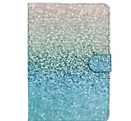 Green Sand Patter PU Leather Full Body Case with Stand for Samsung Galaxy T350/T530/T550