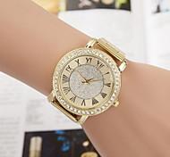 Women's Fashion Quartz Wrist Fashion Watch Alloy Band