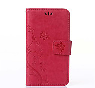 PU Leather Wallet Flip Pattern Case For Samsung Galaxy S Duos S7562 GT-S7562 7562