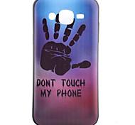 Hand Pattern TPU Phone Case For Samsung Galaxy J1 /Galaxy J5 / G5308 / G360