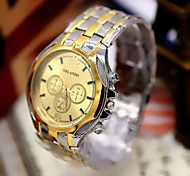 Men's Fashion Watch Standard Scale Steel Quartz Watch Wrist Watch Cool Watch Unique Watch