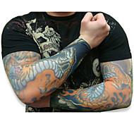 10pcs fresco mangas tatuaje temporal falso cuerpo de arte medias del brazo ACCESSORIE