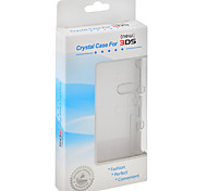 Hard Crystal Case Clear Skin Cover for Nintendo New 3DS Console