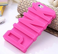 Letter Silicone Phone Case for iphone 6 plus/6S plus