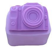 Camera Shaped Fondant Cake Chocolate Silicone Mold, Decoration Tools Bakeware