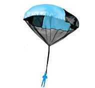 45cm Toy Skydiver Parachute Men Kids Hand Throw Parachute Classic Toys for Children