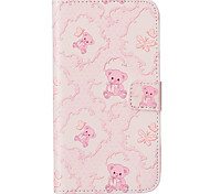 Toy Bear Pattern Embossed PU Leather Case for Sony Xperia Z5/ Xperia Z5 Compact