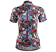 ilpaladinoSport Women Short Sleeve Cycling Jersey New Style Distinctive  DX629Hunting women100% Polyester