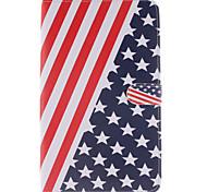 el americano funda de bandera para la galaxia TAB4 10,1 / 8,0 / 7,0 / TAB3 Lite / s2 pestaña 9.7 / s2 8,0 / A9.7 / a8.0 / e9.6 / E8.0 /