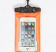 Ao Ar Livre pvc caixa seca material ou saco para iphone / samsung na natação / mergulho