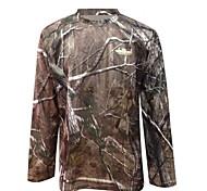 t-shirt ta1-002a camuflagem biônico camuflagem caça de secagem rápida fãs militares roupas de mangas compridas