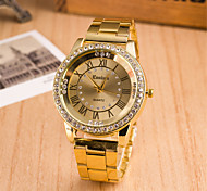 Roman numerals watch the trend in Europe and America Alloy diamond watches quartz watch foreign trade explosion models