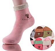 12 pares de calcetines de algodón calcetines de las mujeres casuales de alta calidad para correr / yoga / de la aptitud / de fútbol / golf