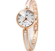 Women's Slim Design Alloy Band Quartz Wristwatch