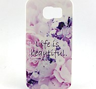 Good Life Painted TPU Phone Case for Galaxy S7/S7edge/S7plus