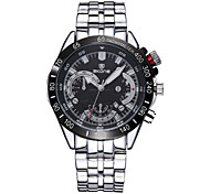SKONE ® Men's Wristwatches Japan Quartz Watch for men Stainless Steel Strap Dress Watches Relojes Masculinos Wrist Watch Cool Watch Unique Watch