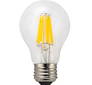 1 pcs kwbled E26/E27 10W 10 COB 950 lm Warm White /White A60(A19) edison Vintage LED Filament Bulbs AC 220-240