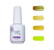 ILuve Gel Nail Polish Set - Pack Of 4 - Long Lasting 3 Weeks Soak Off UV Led Gel Varnish – For Nail Art #4041
