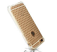 Diamond pattern Ultra thin clear TPU SHOCKproof  BACK cover case for iphone 6/6S