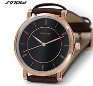 SINOBI Casual Slim Mens Watches For Luxury Brand Man Geneva Wrist Quartz-Watch Best Chinese Males Wristwatches Shop