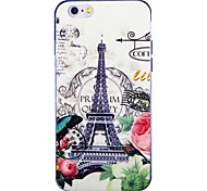 Paris Fashion IMD Printed TPU Soft Back Cover for iPhone 6/6S(Assorted Colors)