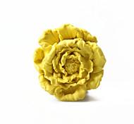 flor peônia bolo fondant forma molde de silicone de chocolate