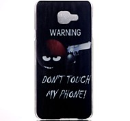 Do not Touch My Phone Pattern PC Material Phone Case for Samsung Galaxy A3/A5/ A5(2016)/A3(2016)/A7(2016)