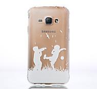 Ultra-Thin 0.1cm TPU Graphic Back Cover for Samsung Galaxy J1/J5/J7/J1 Ace