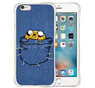 Pocket Monster Soft Transparent Silicone Back Case for iPhone 6/6S (Assorted Colors)