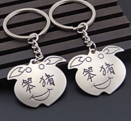 A Pair  Pig Couple Key Chain Car Key Gift Key Chain Ring