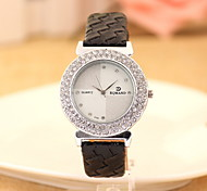 Women's Ladies Fashion Quartz Watch Leather Band