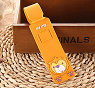 Luggage Tag Anti Lost Reminder Mini Size for Luggage AccessoryBlack Orange Yellow Blue Blushing Pink