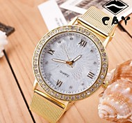 Women's Sport Watch Dress Watch Fashion Watch Wrist watch Large Dial Quartz Alloy Band Charm Multi-Colored