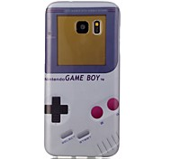 Game machine Pattern TPU Back Case for Galaxy S7 /Galaxy S7 Edge