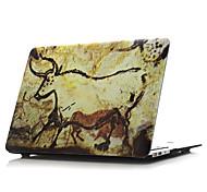 """impresión mate cubierta de la caja de cuerpo completo duro para MacBook Air 11 """"pro 13"""" / 15 """""""