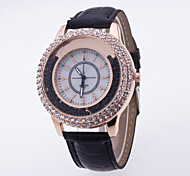 Women's Sport Watch Dress Watch Fashion Watch Wrist watch Large Dial Quartz Genuine Leather Band Charm Multi-Colored