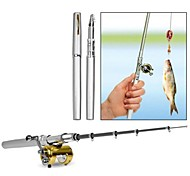 Camping portable Pen Travel Fishing Rod Pole Reel Mini