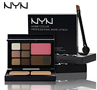NYN® EyeShadow &Powder&Blush&Eyebrow Makeup Set
