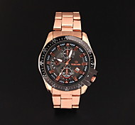 Men's Fashionable  Wrist Stainless Steel Watches