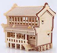 Пазлы 3D пазлы Деревянные пазлы Строительные блоки Игрушки своими руками Лошадь Дерево