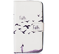 Faith Embossed PU Leather Case for Galaxy J5(2016)/ Galaxy Grand Prime/ Galaxy Grand Prime/ Galaxy J5