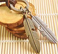 Муж. Ожерелья с подвесками Геометрической формы Кожа Медь Сплав бижутерия Бижутерия Назначение Повседневные Спорт Новогодние подарки