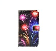 Fireworks Diamond Pattern Painted PU Phone Case for Galaxy A310/A510/A710/A9