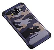 Camouflage PU leather Shockproof  soft TPU Silicone case for Samsung Galaxy A5/A7/A8/A9