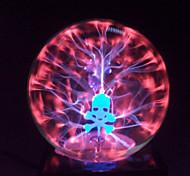 cristal mágica bola de plasma cráneo esfera de 4 pulgadas bola mágica electrónica de manualidades, ornamentos del regalo de cumpleaños