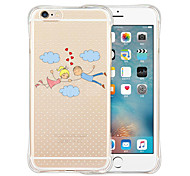 The World Is Full Of Love Soft Transparent Silicone Back Case for iPhone 6/6S (Assorted Colors)