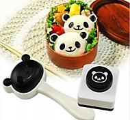 Panda Suit Sushi Rice Ball Mold,Random Color